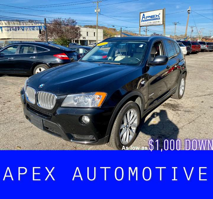 Used 2013 BMW X3 in Waterbury, Connecticut | Apex  Automotive. Waterbury, Connecticut
