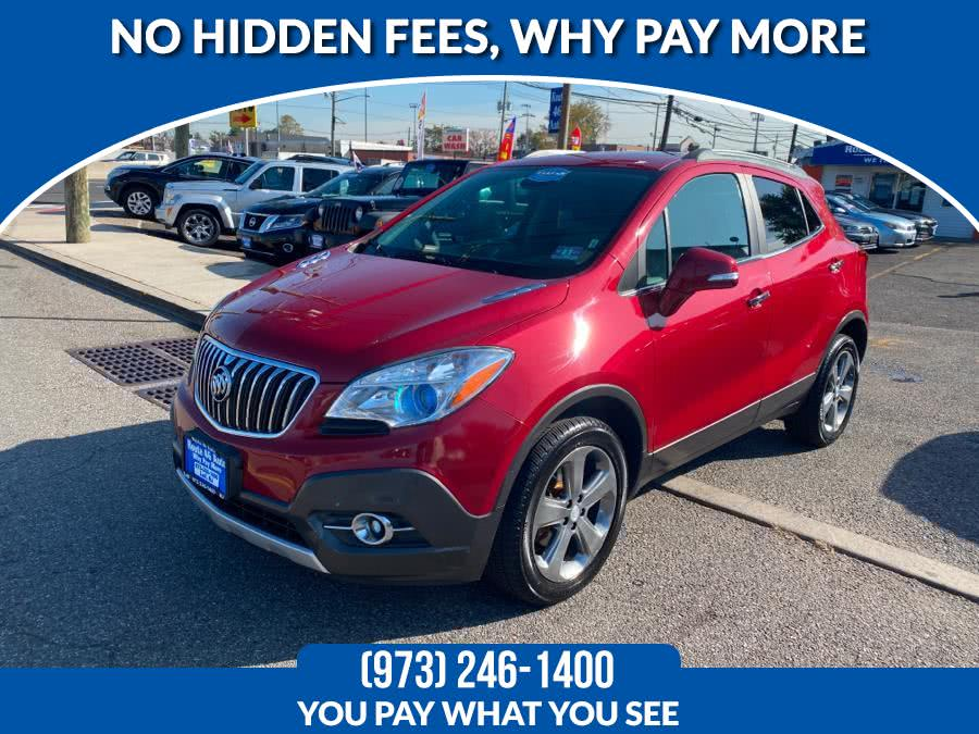 Used Buick Encore AWD 4dr Convenience 2014   Route 46 Auto Sales Inc. Lodi, New Jersey