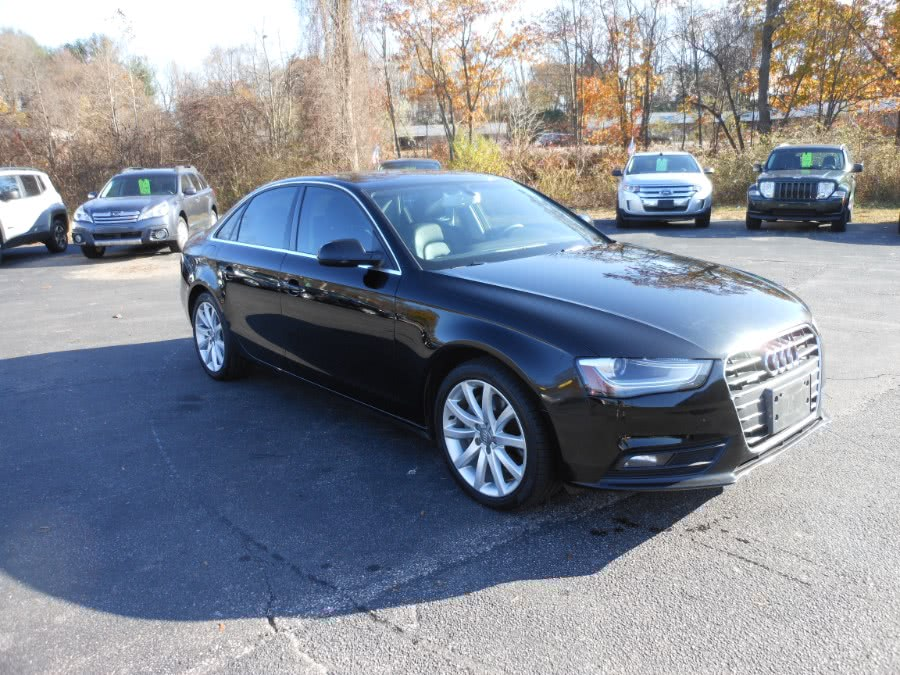 Used Audi A4 4dr Sdn Auto quattro 2.0T Premium Plus 2013 | Yantic Auto Center. Yantic, Connecticut