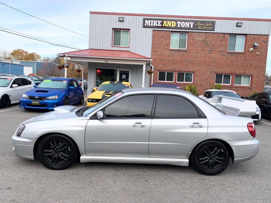 Used Subaru Impreza Sedan 2.0 WRX Manual 2005   Mike And Tony Auto Sales, Inc. South Windsor, Connecticut