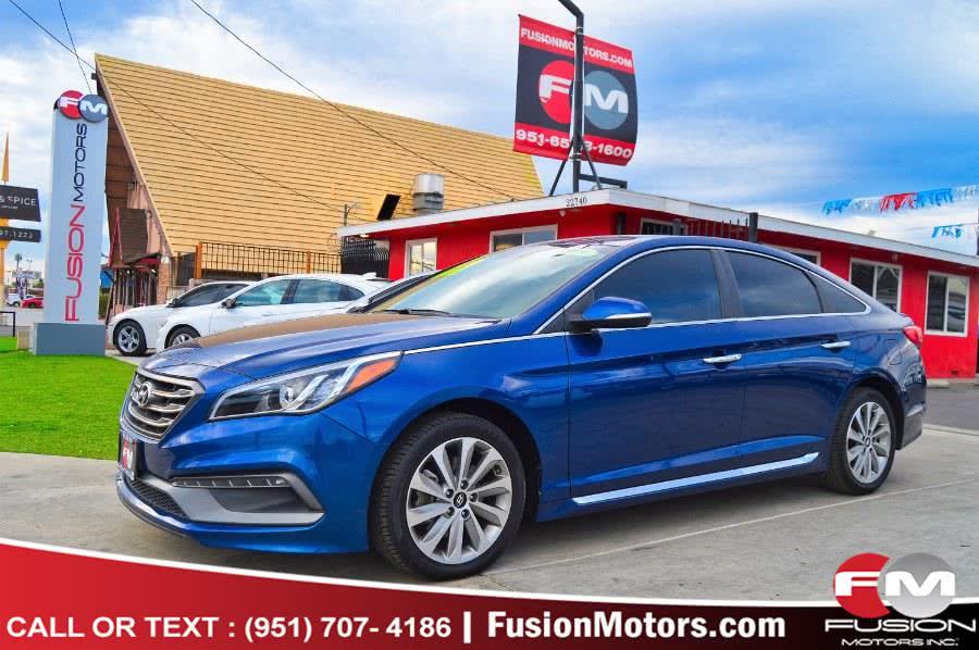 Used Hyundai Sonata Sport 2.4L PZEV 2017 | Fusion Motors Inc. Moreno Valley, California