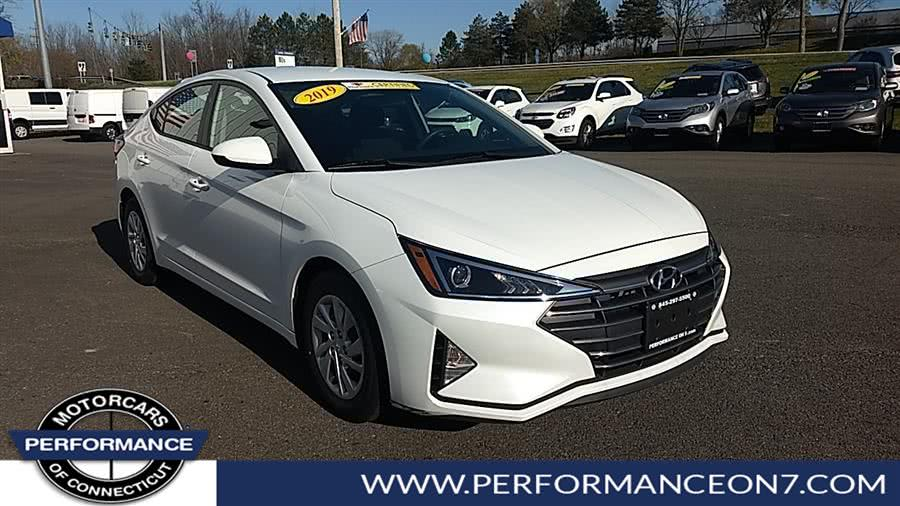 Used 2019 Hyundai Elantra in Wilton, Connecticut | Performance Motor Cars. Wilton, Connecticut