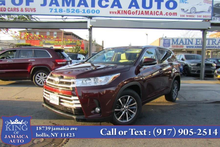 Used Toyota Highlander XLE V6 AWD (Natl) 2018   King of Jamaica Auto Inc. Hollis, New York