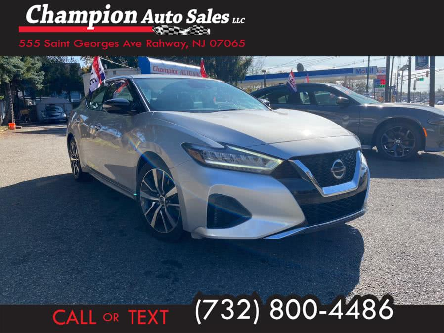 Used 2020 Nissan Maxima in Rahway, New Jersey | Champion Auto Sales. Rahway, New Jersey