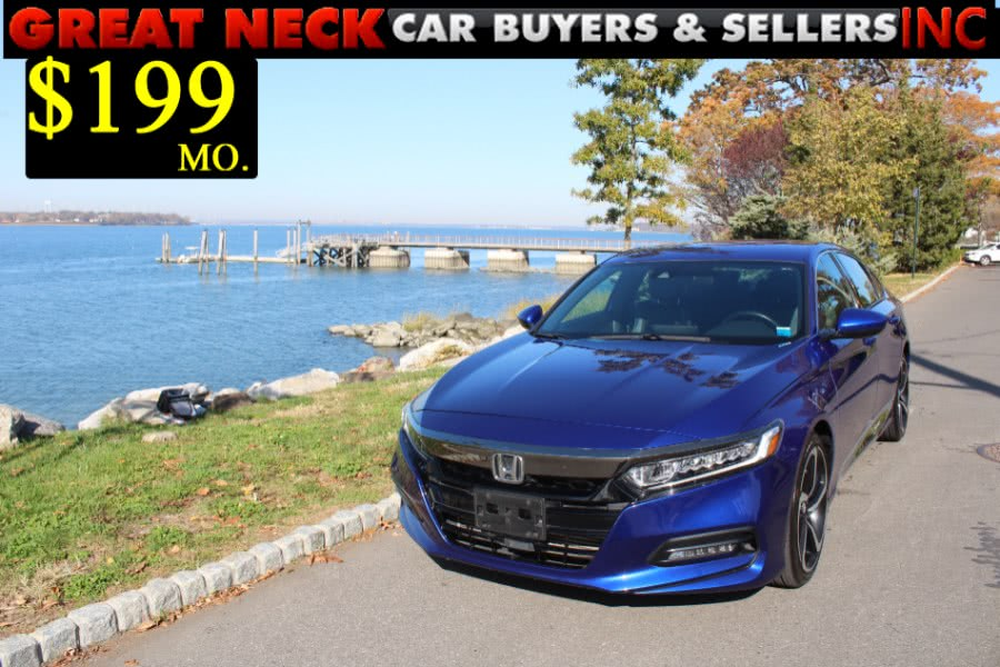 Used 2018 Honda Accord Sedan in Great Neck, New York