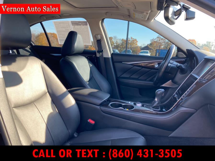 Used Infiniti Q50 3.0t Premium AWD 2017   Vernon Auto Sale & Service. Manchester, Connecticut