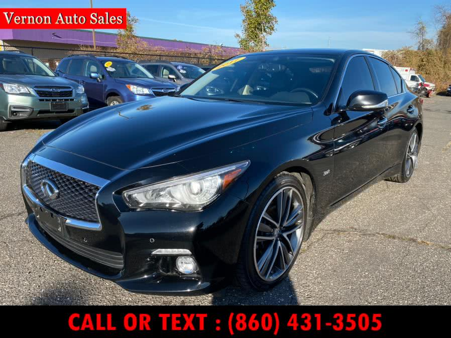 Used 2017 Infiniti Q50 in Manchester, Connecticut | Vernon Auto Sale & Service. Manchester, Connecticut
