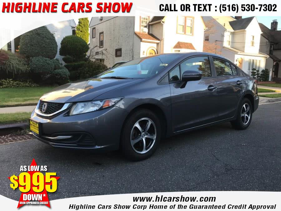 Used 2015 Honda Civic Sedan in West Hempstead, New York | Highline Cars Show Corp. West Hempstead, New York