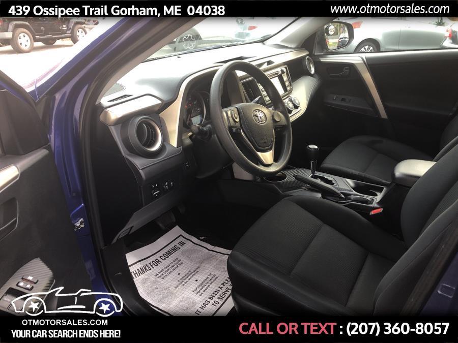 Used Toyota RAV4 AWD 4dr LE (Natl) 2015 | Ossipee Trail Motor Sales. Gorham, Maine