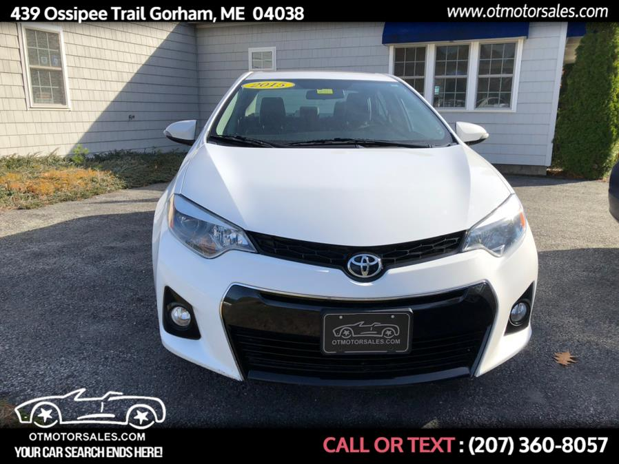 Used Toyota Corolla S 2015 | Ossipee Trail Motor Sales. Gorham, Maine