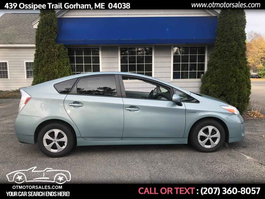 Used Toyota Prius 5 door 2012 | Ossipee Trail Motor Sales. Gorham, Maine