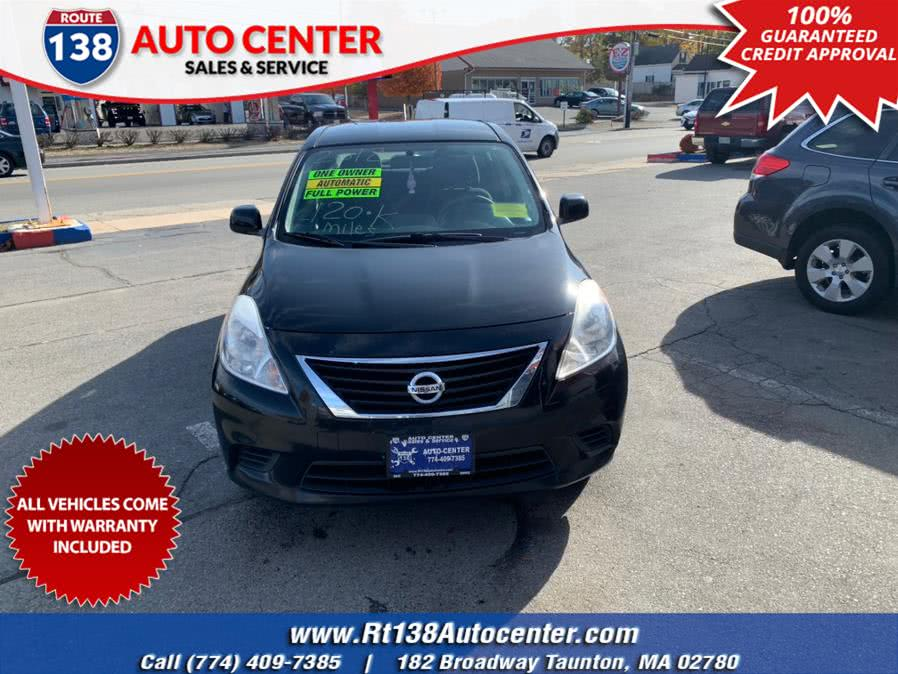 Used 2012 Nissan Versa in Taunton, Massachusetts | Rt 138 Auto Center Inc . Taunton, Massachusetts
