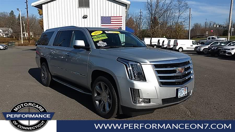 Used 2015 Cadillac Escalade ESV in Wilton, Connecticut | Performance Motor Cars. Wilton, Connecticut