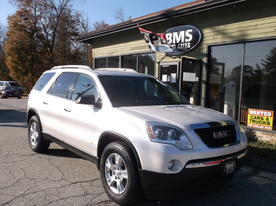 Used 2012 GMC Acadia in Brooklyn, Connecticut | Brooklyn Motor Sports Inc. Brooklyn, Connecticut