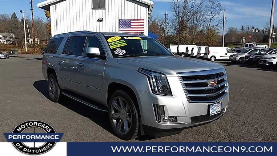 Used 2015 Cadillac Escalade ESV in Wappingers Falls, New York | Performance Motorcars Inc. Wappingers Falls, New York