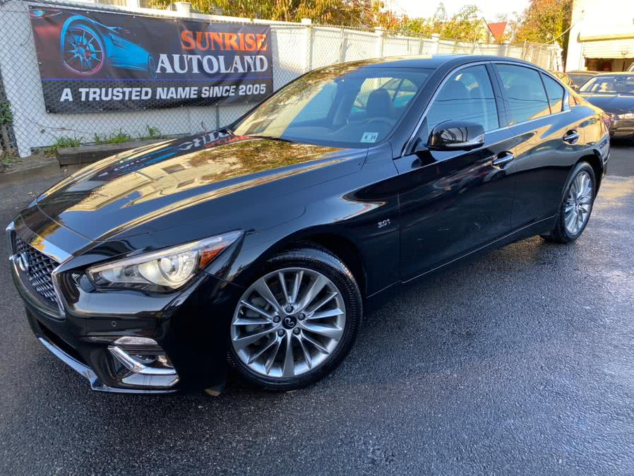 Used 2019 INFINITI Q50 in Jamaica, New York | Sunrise Autoland. Jamaica, New York