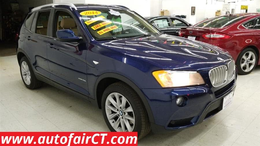 Used 2014 BMW X3 in West Haven, Connecticut
