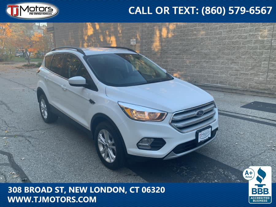 2018 Ford Escape SE 4WD, available for sale in New London, CT