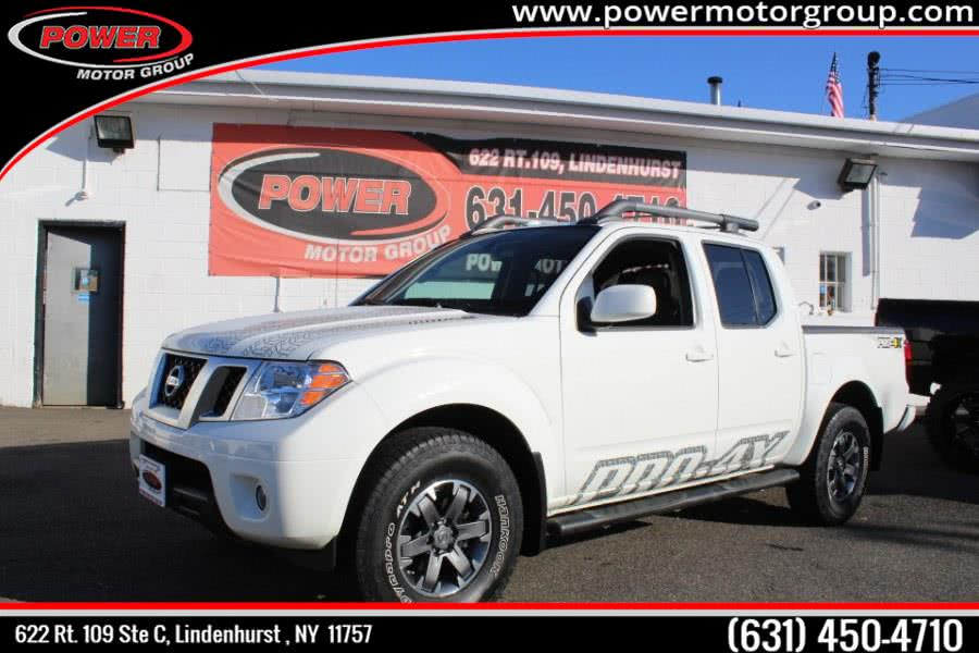 Used Nissan Frontier Crew Cab 4x4 PRO-4X Auto 2017 | Power Motor Group. Lindenhurst , New York