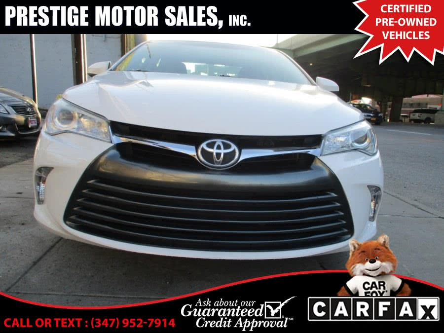 Used 2016 Toyota Camry in Brooklyn, New York | Prestige Motor Sales Inc. Brooklyn, New York