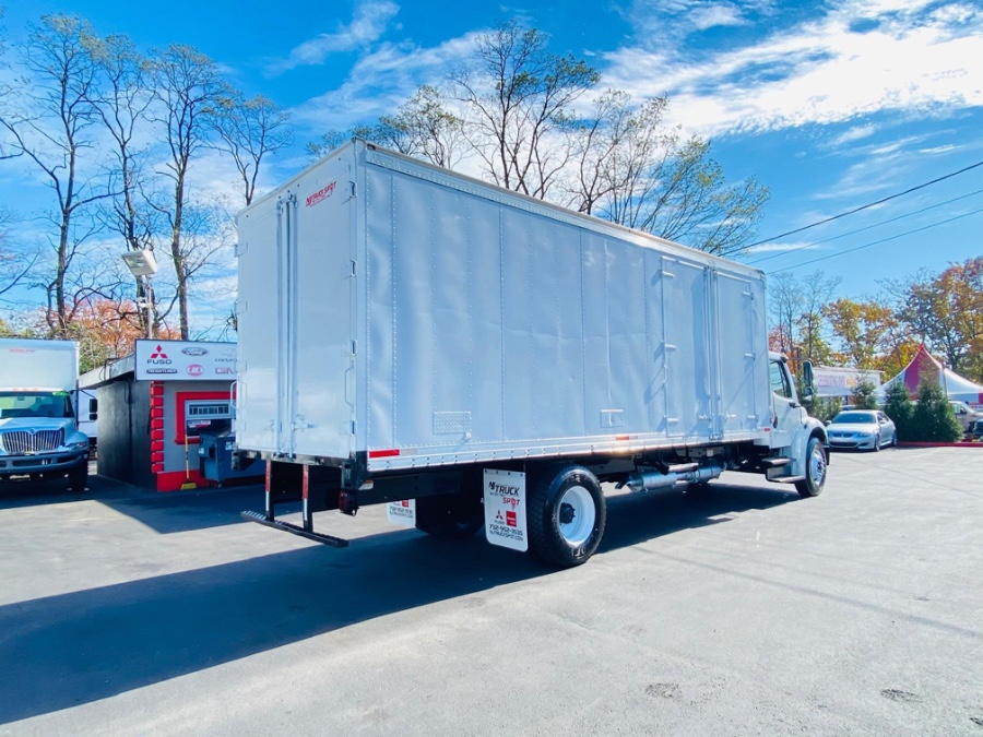 Used Freightliner M2 106 24 FEET DRY BOX + DUAL SIDE DOORS + NO CDL 2015   NJ Truck Spot. South Amboy, New Jersey