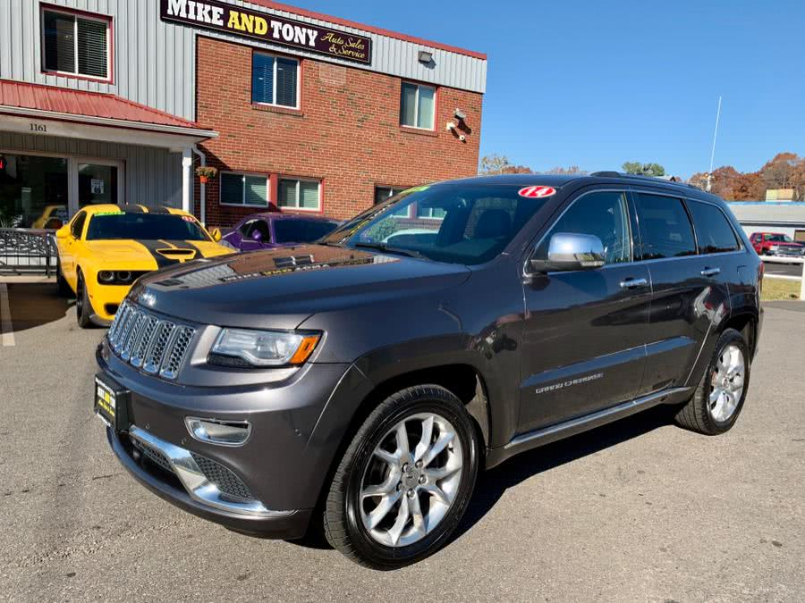 Used Jeep Grand Cherokee 4WD 4dr Summit 2014 | Mike And Tony Auto Sales, Inc. South Windsor, Connecticut