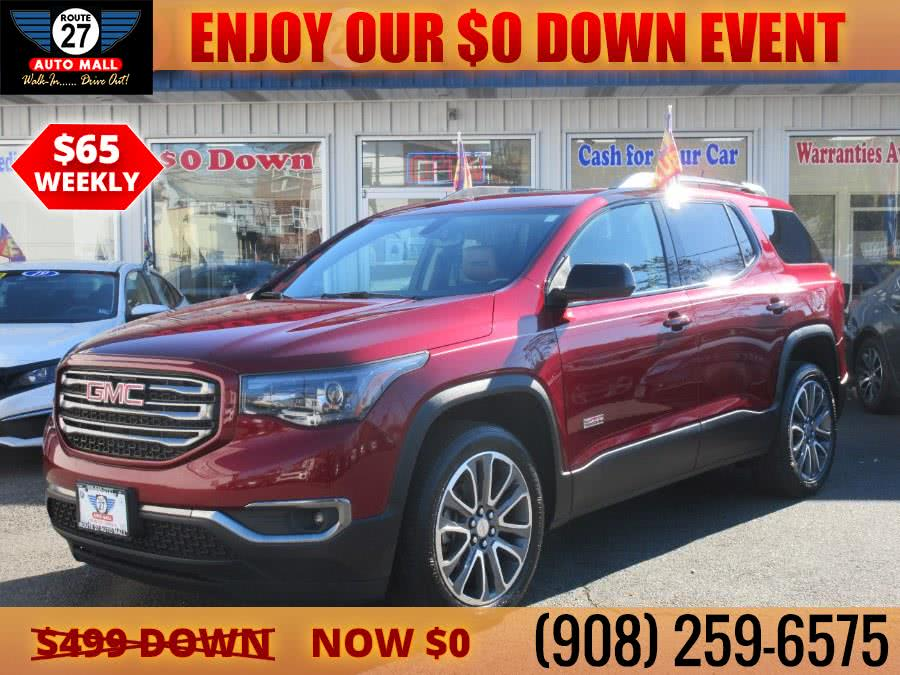 Used 2017 GMC Acadia in Linden, New Jersey | Route 27 Auto Mall. Linden, New Jersey