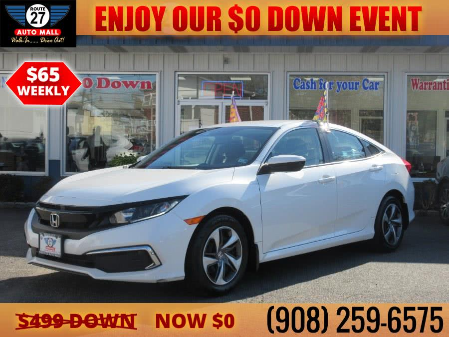 Used 2019 Honda Civic Sedan in Linden, New Jersey | Route 27 Auto Mall. Linden, New Jersey