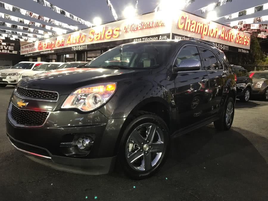 Used 2015 Chevrolet Equinox in Bronx, New York | Champion Auto Sales Of The Bronx. Bronx, New York
