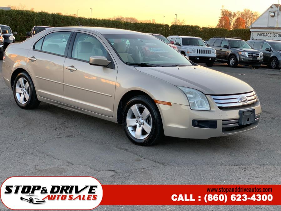 Used Ford Fusion 4dr Sdn I4 SE FWD 2008 | Stop & Drive Auto Sales. East Windsor, Connecticut