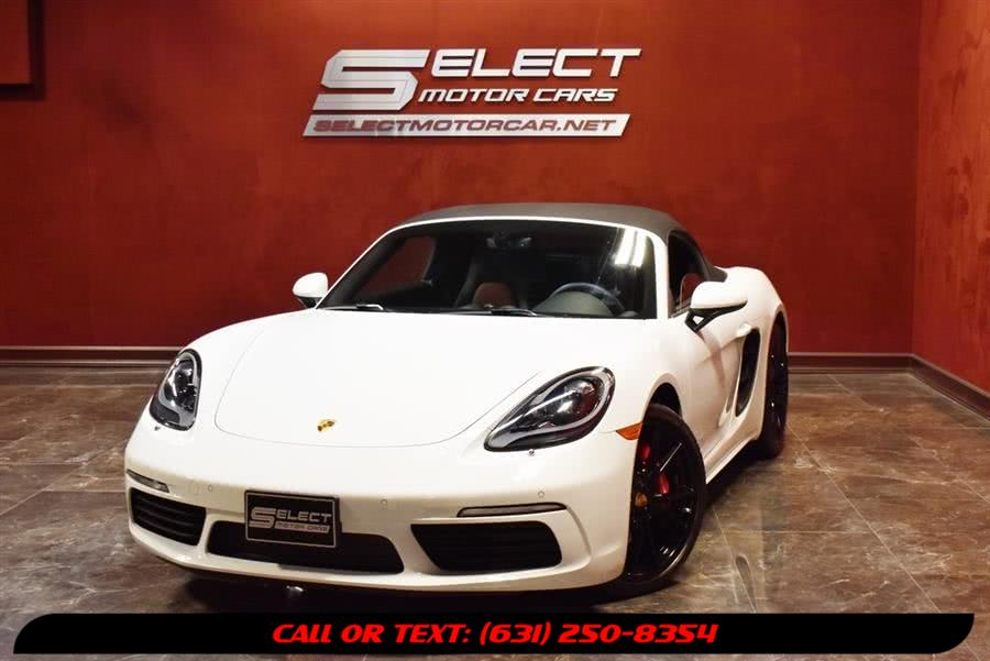 Used 2019 Porsche 718 Boxster in Deer Park, New York | Select Motor Cars. Deer Park, New York