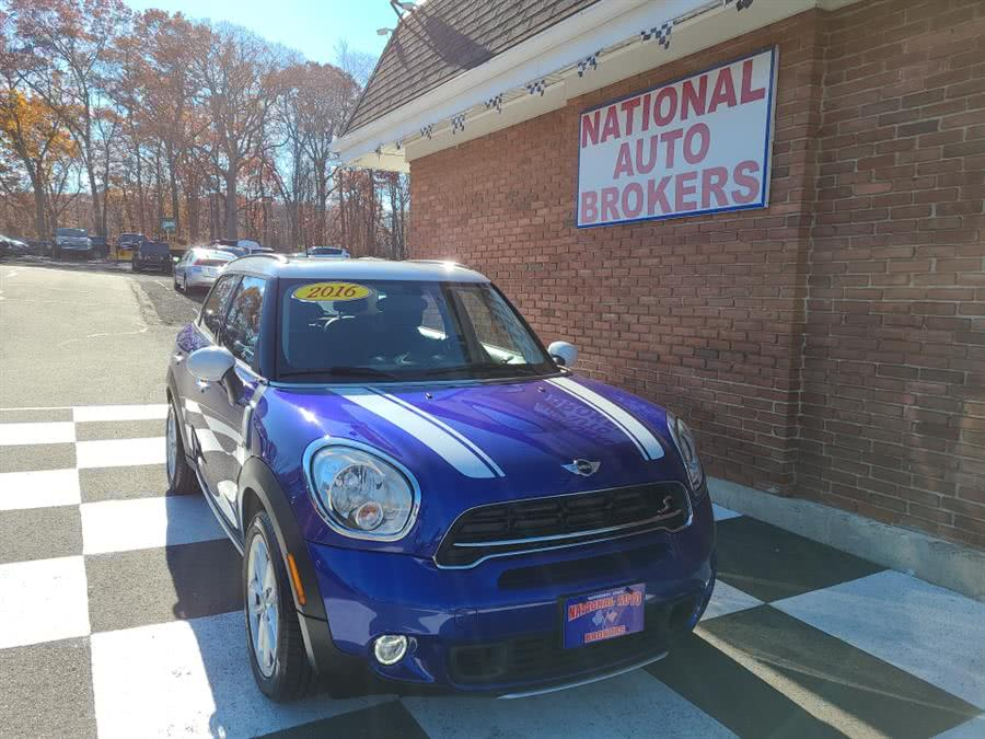 Used 2016 MINI Cooper Countryman in Waterbury, Connecticut | National Auto Brokers, Inc.. Waterbury, Connecticut