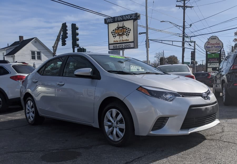 Used Toyota Corolla 4dr Sdn CVT LE (Natl) 2015 | Rally Motor Sports. Worcester, Massachusetts