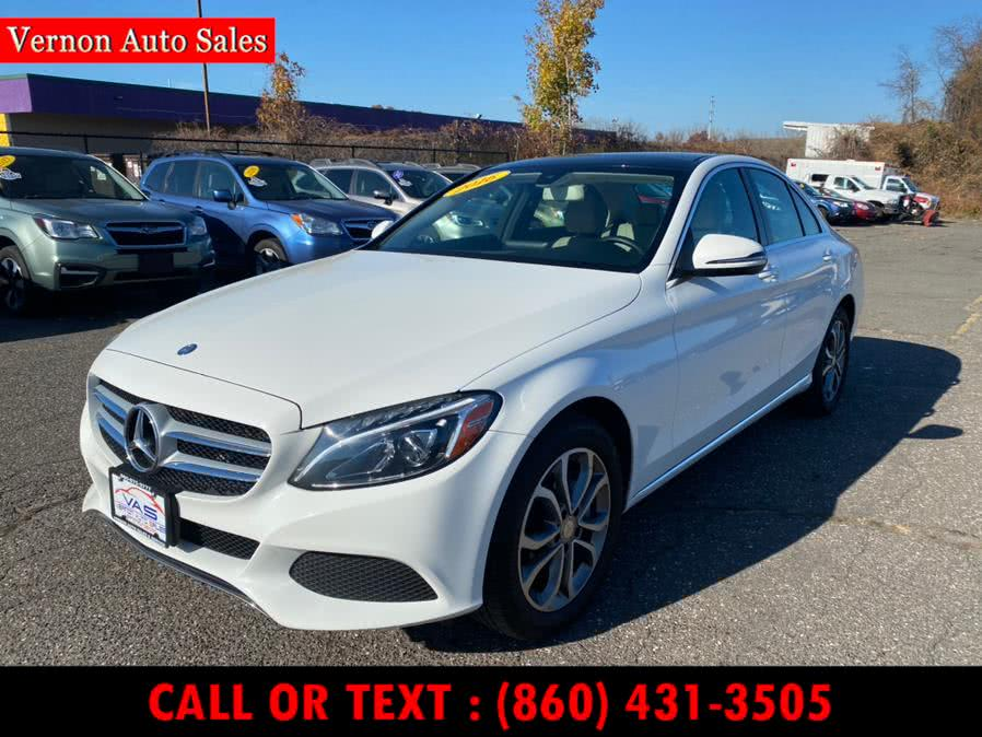 Used Mercedes-Benz C-Class 4dr Sdn C 300 Sport 4MATIC 2016 | Vernon Auto Sale & Service. Manchester, Connecticut