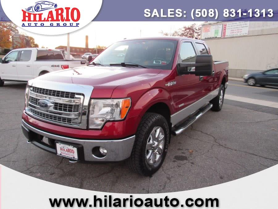 Used 2013 Ford F-150 SuperCrew 145 in Worcester, Massachusetts | Hilario's Auto Sales Inc.. Worcester, Massachusetts