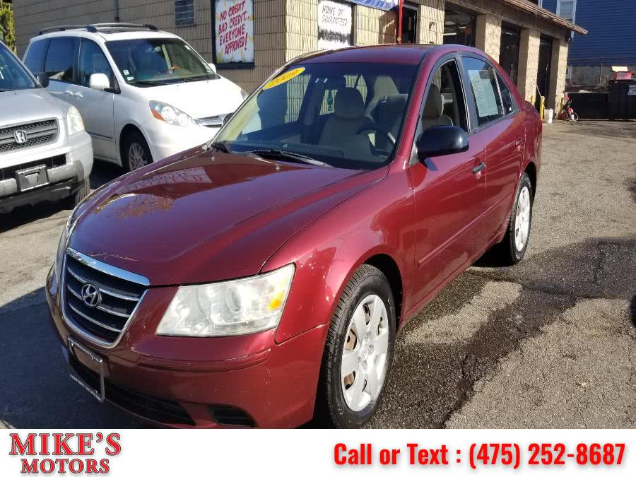 Used Hyundai Sonata 4dr Sdn I4 Auto GLS 2009 | Mike's Motors LLC. Stratford, Connecticut