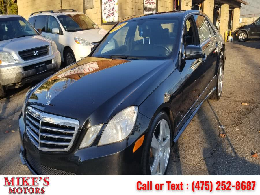 Used Mercedes-Benz E-Class 4dr Sdn E350 Sport 4MATIC 2010 | Mike's Motors LLC. Stratford, Connecticut