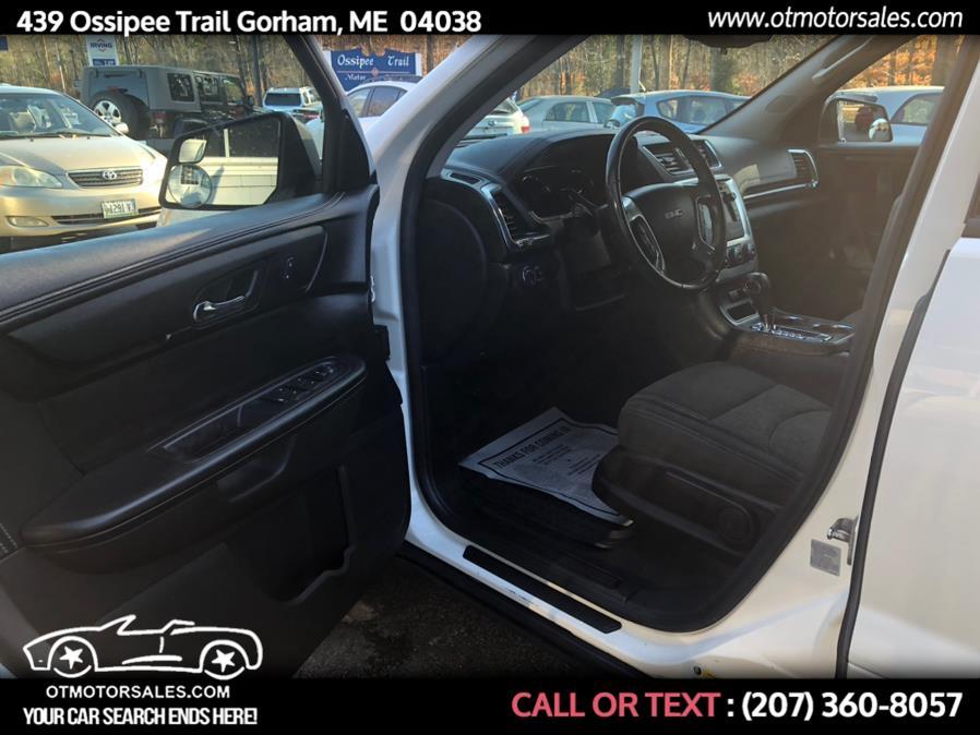 Used GMC Acadia AWD 4dr SLE w/SLE-1 2013   Ossipee Trail Motor Sales. Gorham, Maine