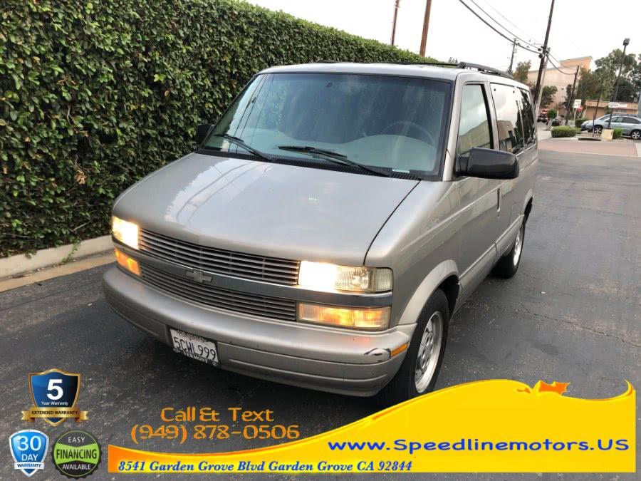 Used 2003 Chevrolet Astro Passenger in Garden Grove, California | Speedline Motors. Garden Grove, California