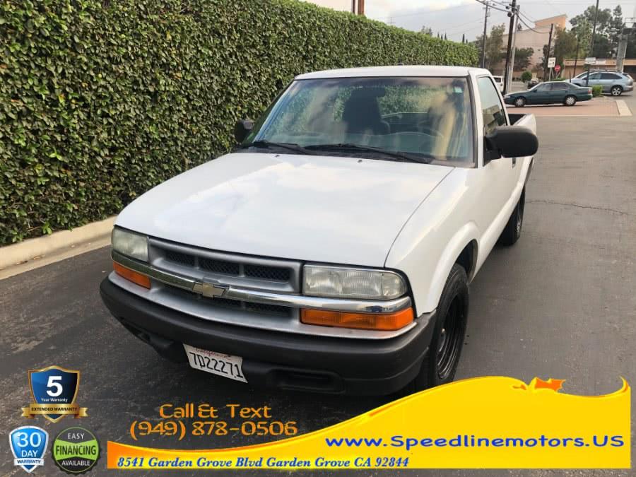Used 2003 Chevrolet S-10 in Garden Grove, California | Speedline Motors. Garden Grove, California