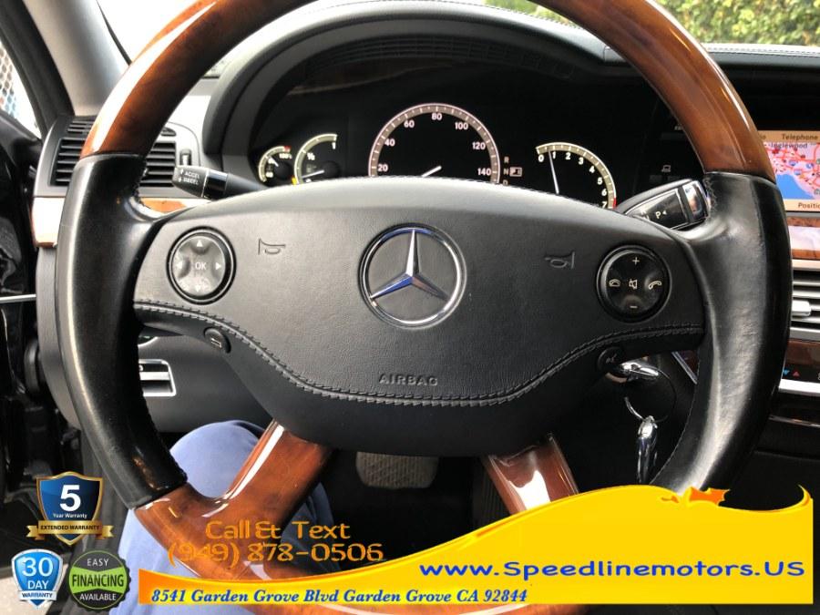 Used Mercedes-Benz S-Class 4dr Sdn 5.5L V8 RWD 2009 | Speedline Motors. Garden Grove, California