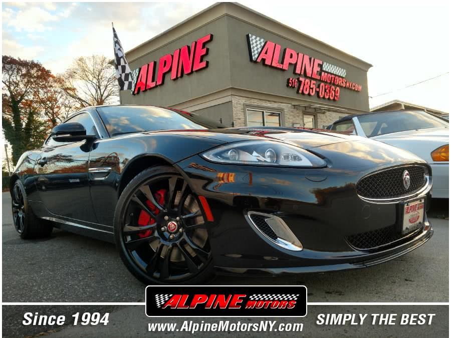 Used Jaguar XKR 2dr Cpe XKR 2015   Alpine Motors Inc. Wantagh, New York
