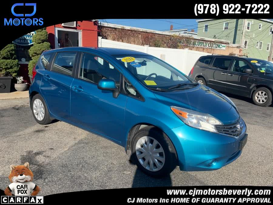 Used 2014 Nissan Versa Note in Beverly, Massachusetts | CJ Motors Inc. Beverly, Massachusetts