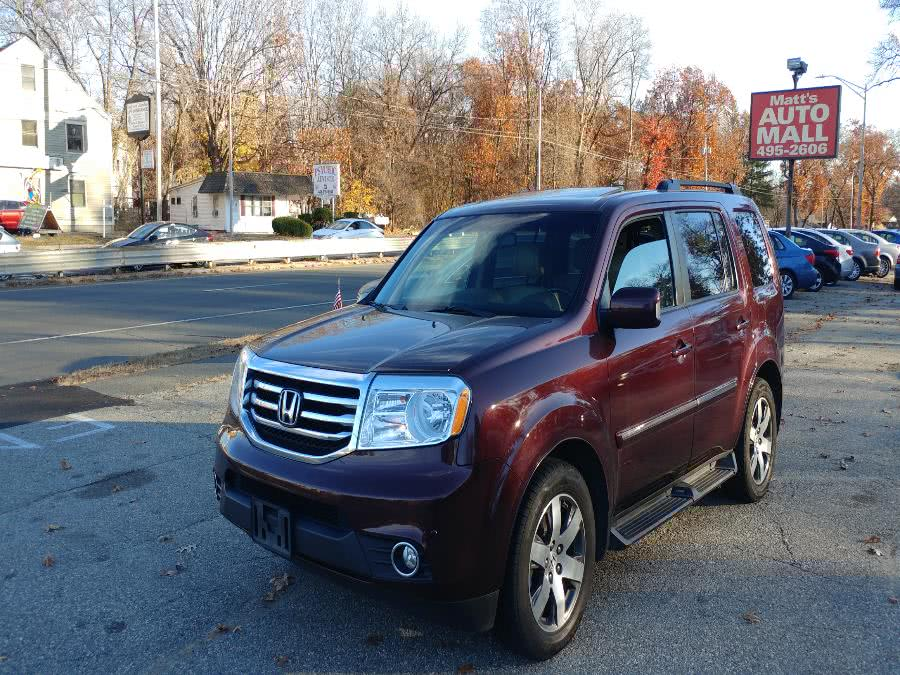 Used Honda Pilot 4WD 4dr Touring w/RES & Navi 2013 | Matts Auto Mall LLC. Chicopee, Massachusetts