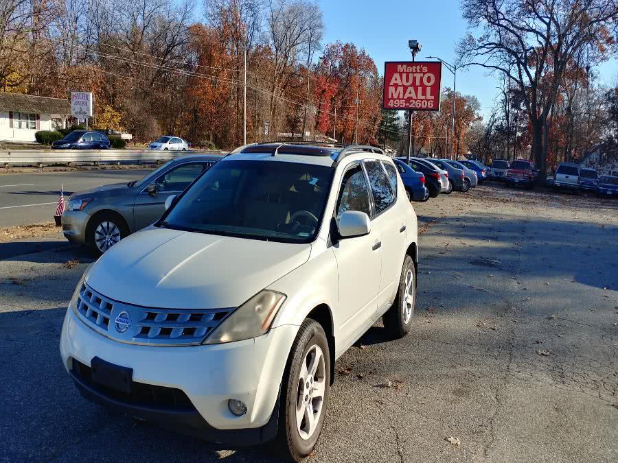 Used 2005 Nissan Murano in Chicopee, Massachusetts | Matts Auto Mall LLC. Chicopee, Massachusetts