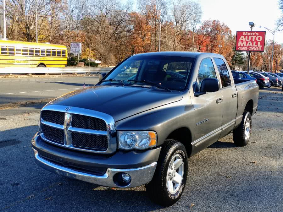 Used 2002 Dodge Ram 1500 in Chicopee, Massachusetts | Matts Auto Mall LLC. Chicopee, Massachusetts