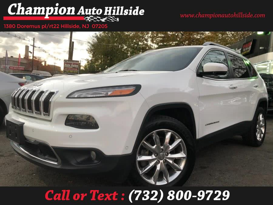 Used 2016 Jeep Cherokee in Hillside, New Jersey | Champion Auto Hillside. Hillside, New Jersey