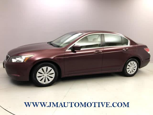 Used Honda Accord 4dr I4 Auto LX 2010 | J&M Automotive Sls&Svc LLC. Naugatuck, Connecticut