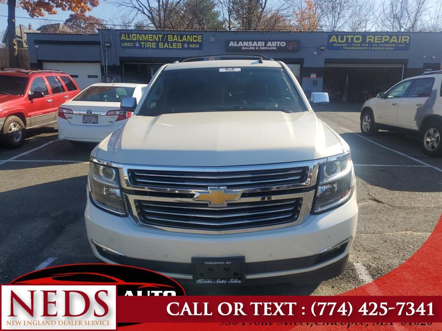 Used Chevrolet Tahoe 4WD 4dr LTZ 2016 | New England Dealer Services. Indian Orchard, Massachusetts