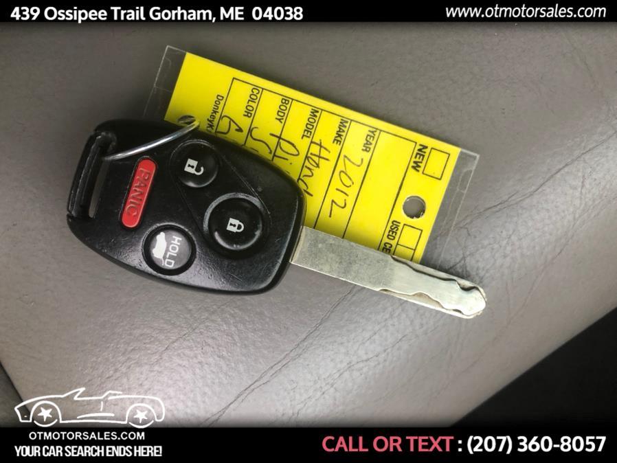 Used Honda Pilot 4WD 4dr EX-L w/RES 2012 | Ossipee Trail Motor Sales. Gorham, Maine